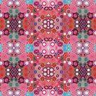 Pink Multi Mirrored Spirograph Design by RachelEDesigns