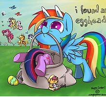 Easter Egghead by hobbutt
