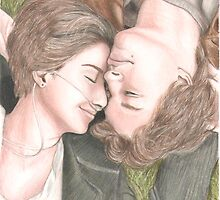 The fault in our stars drawing by EmilyThePenguin