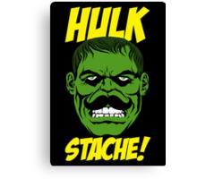 Hulk Stache Canvas Print