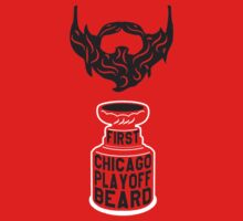 First CHICAGO Playoff Beard by pointandthread