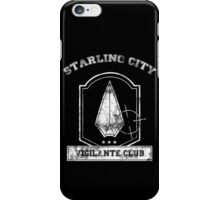 Starling City Vigilante Club iPhone Case/Skin