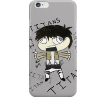 Raging Chibi Eren Attack on Titan Phone Case iPhone Case/Skin