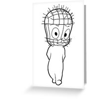 The Unfriendly Ghost Greeting Card