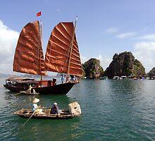 Halong bay by NGUYENKHACTHANH