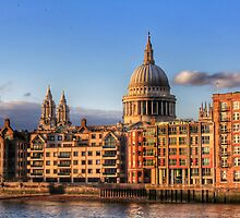 Afternoon Glow_St Pauls Cathedral London by Sharon Kavanagh