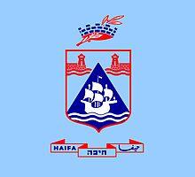 Flag of Haifa  by abbeyz71