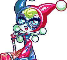 Chibi Harley Quinn by Penelope Barbalios