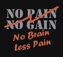 No pain No gain  by syshinobi