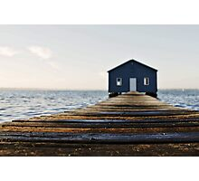 Crawley Edge Boat Shed Perth Photographic Print