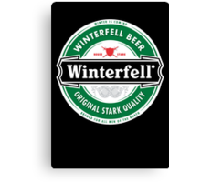 Winterfell Beer - Brewed for All Men of The North Canvas Print