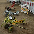 Spare Parts Aircraft Sculptures, Cunderdin Airshow, Australia 2005 by muz2142