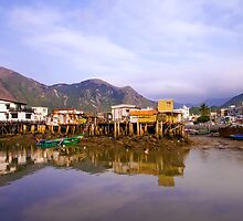 Tai-O Village, Hong Kong by fernblacker