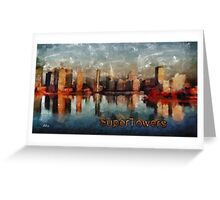 Super towers Greeting Card