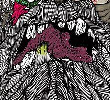 Undead Santa (color) by BruisedNail13