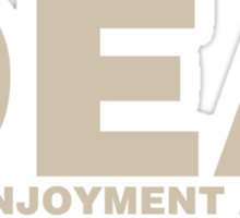 DEA Drug Enjoyment Agency Sticker