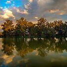 Stormy Light, Horseshoe Lagoon by Cameron B