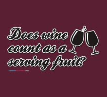 Does Wine Count As A Serving Fruit? by CarbonClothing