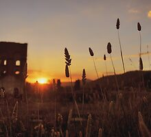 Sunset over the Furnace by kelliejane