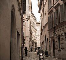 Street alley by Mats Silvan