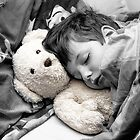 Beary Tired lill boy  by Melissa Dickson