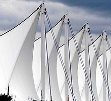 Canada Place Sails by phil decocco