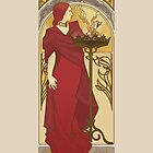 The Red Priestess by ElinJ