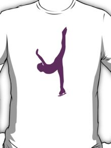 Figure skating woman T-Shirt
