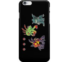 Choose your starter! iPhone Case/Skin