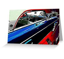 Monterey Hardtop Coupe Greeting Card