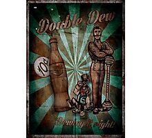 Zombies Double Dew Perk Poster Photographic Print