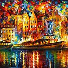 COLOR BOAT by Leonid  Afremov