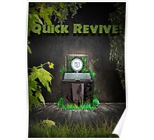 Quick Revive Soda Perk Poster Poster
