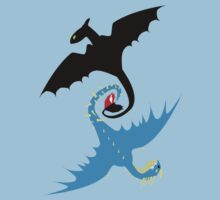 How to Train Your Dragon - Toothless and Stormfly by Josbel