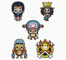 One Piece - Mugiwara Pirates Sticker Sheet II [New World Edition] by Sandy W
