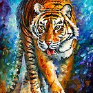 TIGER by Leonid  Afremov