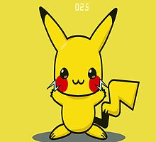 Pokedex: Pikachu by Sangavi Manickavel