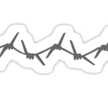 Barbed Wire Sticker