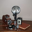 Uncle Ted's Camera and Mike's Roy Rogers Camera by BCallahan