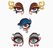 Pixel Eye Sticker Collection  by SteampunkStein