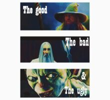 the good, the bad and the smeagol by midgetsheep