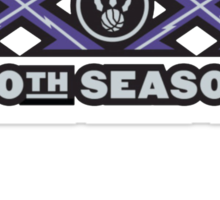 Toronto Raptors 20 year Anniversary Sticker
