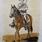 Australian Light Horseman by Dianne  Ilka