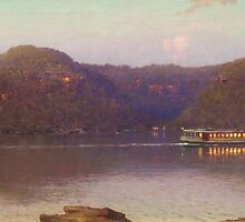 Last Ferry From Patonga by graham-krysten