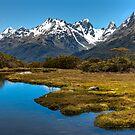Key Summit - Fiordland by Kimball Chen