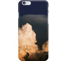 MASSIVE CLOUDS, TINY AIRPLANE iPhone Case/Skin