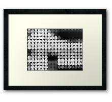 Digital Polka Dot Framed Print