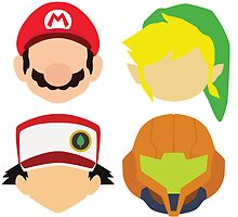 Nintendo Greats by MoleFole