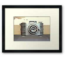 Detrola Vintage Camera Framed Print