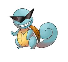 Cool guy squirtle by mangopoptart
